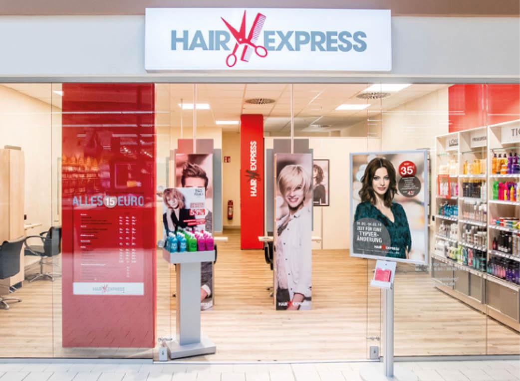 Hair Express Preisliste 2021